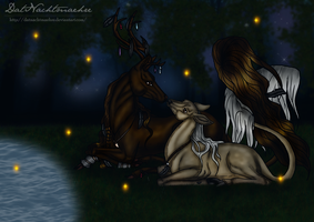 The last fireflies by DatNachtmaehre
