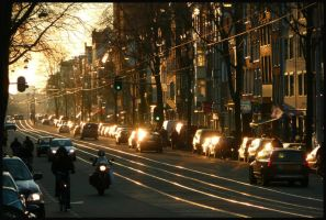 Amsterdam afternoon lightplay by Esperimenti