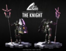 The Knight - Presentation Shot by darthrith
