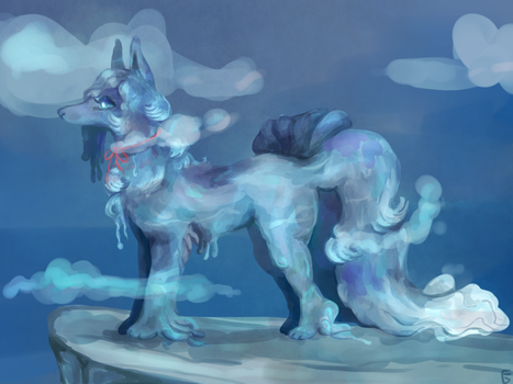 water ninetales by foxgay