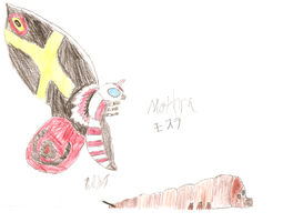 GTS II: Mothra by SuperSaiyan4Godzilla