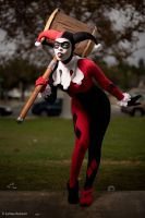 Harley Quinn - I'm Rubber, You're Glue! by Enasni-V