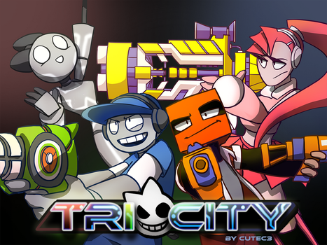 Tri-City Promo Poster by CuteC3