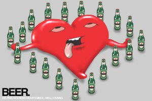 I Love Beer... by Chacho