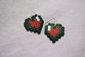 earrings heart by kiri-chan1990