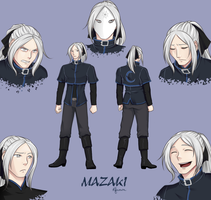 Mazaki Reference Sheet by MadRatBird