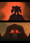 Robotnik in Hell by brotoad