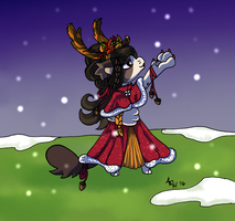 BB Prompt: Headed to the Harvest Dance by Ryu-Oni