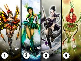 Which one is your favorite? by Axcido
