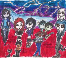Ruby Gloom Teenagers XD by Xtears-make-cloudsX