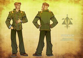 Pilot's uniform by Katerinich