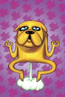 Jake the dog !! by JuanKarlos