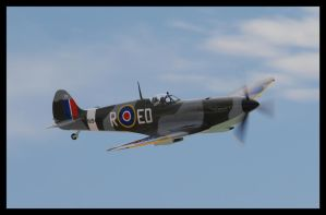 Nellis Spitfire by AirshowDave