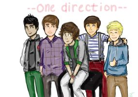 One Direction by SheepG0toHeaven
