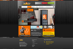 Cheminees webdesign by Mstarback