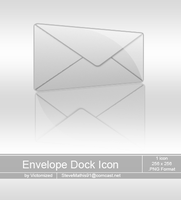 Envelope Dock Icon by Victomized