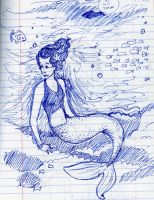 Another Mermaid by the-starfish