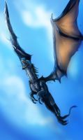 You can fly now, Elleonore by Ti-R