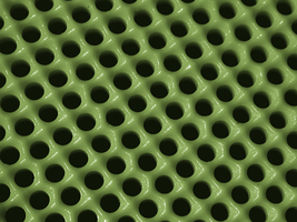Green Plastic Holes by wulfster