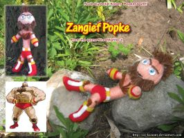 Zangief Popke by LadyRafira