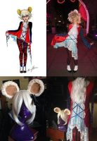 Mad T Party Concept Art Dormouse Cosplay Costume by Lillum