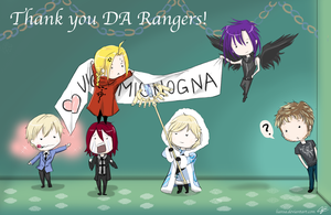 For the DA Rangers by Liansa