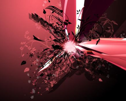 pink vector wallpaper by Bartas1503