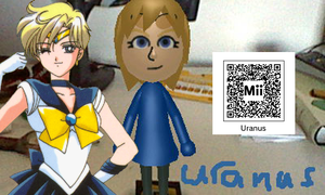 Sailor Uranus QR Code by SonicPal
