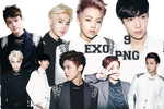 EXO's PNG Pack {Overdose Polaroids} by kamjong-kai