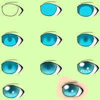 SAI Beginner EyeColor Tutorial by Telapathic