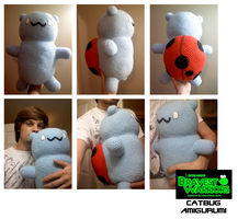 Bravest Warriors Catbug Amigurumi by hoity-toity-holiday