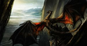 Smaug by sergiuzegrean