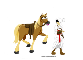 Assassin's Creed: Horse by Blue-and-Dog