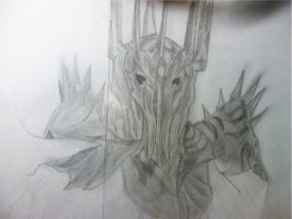 Sauron - 2nd W.I.P. by galis33
