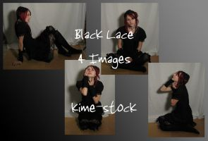 Black Lace 3 by kime-stock