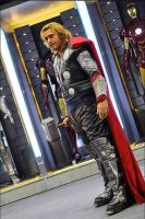 THOR!!! cosplayed by Captainjaze by captainjaze