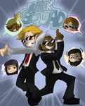 Geek Squad Comic Cover by GeekSquadComic