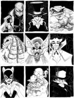 """""""Faces of Evil"""" by misfitcorner"""