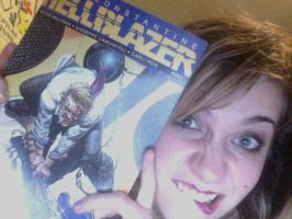 Hellblazer 285 Published Dev ID by Carliihde