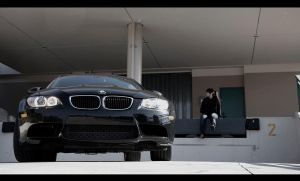 Me and the bimmer M3 by Akanishi-san