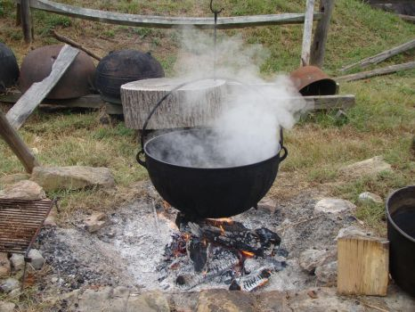 Primitive cooking by Glaisne