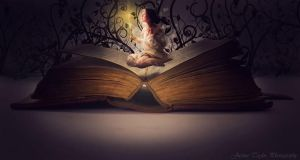 When Books Come to Life by JustineTaylor