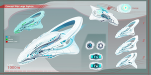 Concept Ship Sophon Large 01 by Kryssalian