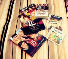 one direction books and albums! by 1Dzaynharry