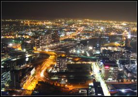 Melbourne at Midnight by Pianochick66