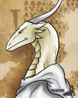 Dragon Bust Philolosopher by TwilightSaint