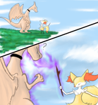 Braixen's Encounter Page 1 by Blimpfurry