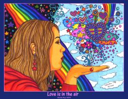Love is in the air by kine80