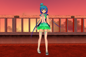 MMD - Negi Aoki Lapis Model Download by AkitaFanZ