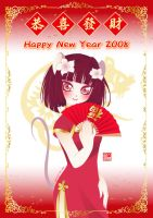 Happy Chinese New Year by kurokumo
